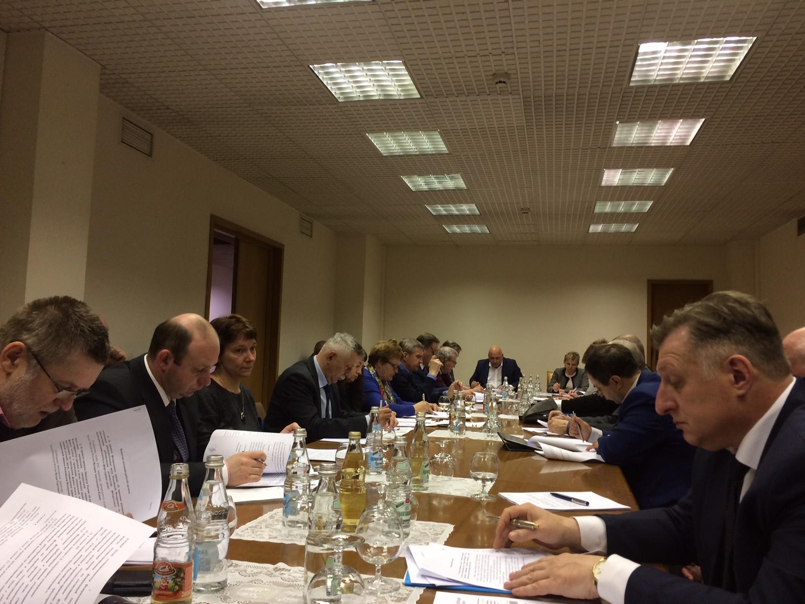 Очередное заседание рабочей группы по защите трудовых прав, охране труда, промышленной и экологической безопасности РТК